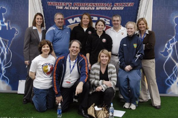 Group photo at the 2008 NSCAA Convention